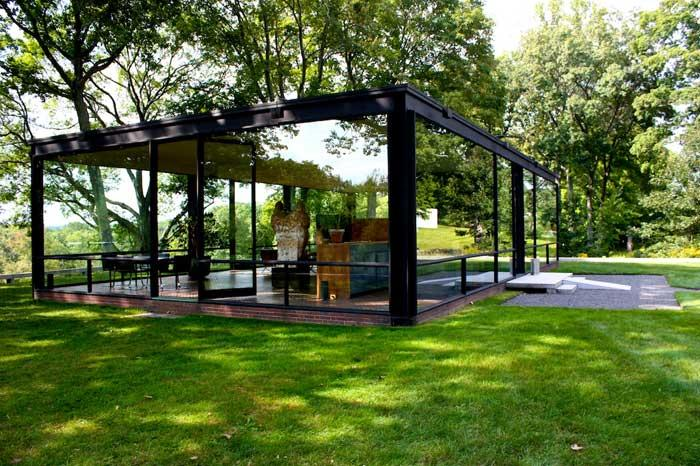 the glass house new canaan ct. Black Bedroom Furniture Sets. Home Design Ideas